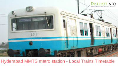 Hyderabad MMTS metro station - Local Trains Routes