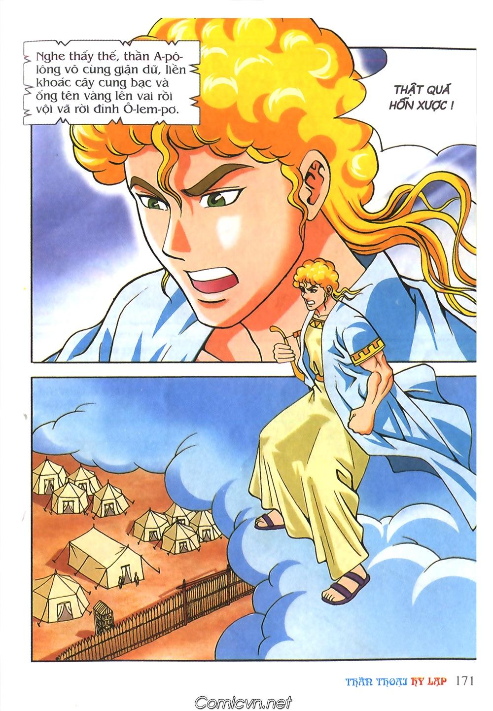 Thần Thoại Hy Lạp Màu - Chapter 56: Hai vị tướng và hai mỹ nữ - Pic 24