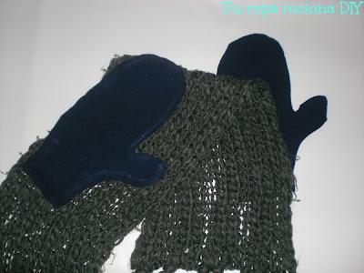 reciclar bufanda