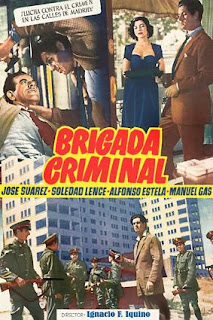 Brigada criminal (1950) | Cartel de la película