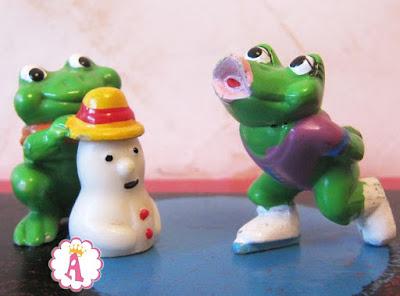 Киндер сюрприз лягушки 1993 года