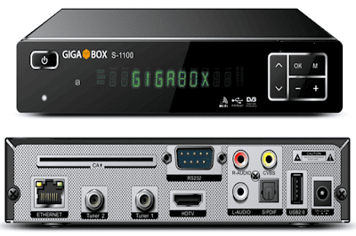 GIGABOX S-1100 MODIFICADO ONDEMAND GIGABOX-S1100