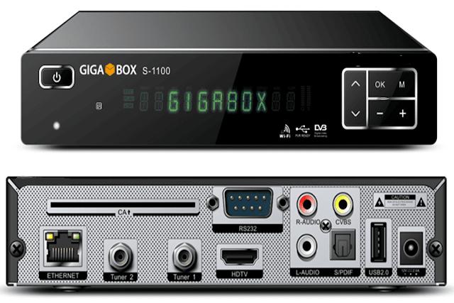 GIGABOX S-1100 MODIFICADO OnDemand - 12/05/2018