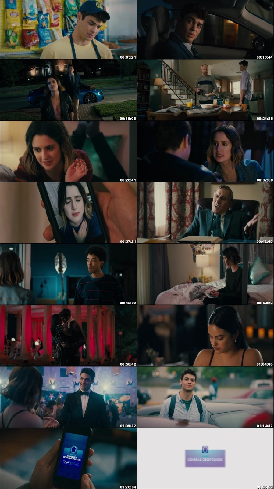 Screen Shot Of The Perfect Date 2019 300MB Full Movie Hindi Dubbed Free Download 480P BRRip Small Size PC Movie