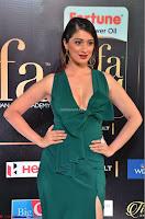 Raai Laxmi in Deep Neck Sleeveless Green Leg Split Gown at IIFA Utsavam Awards 2017  Day 2    HD Exclusive Pics 04.JPG