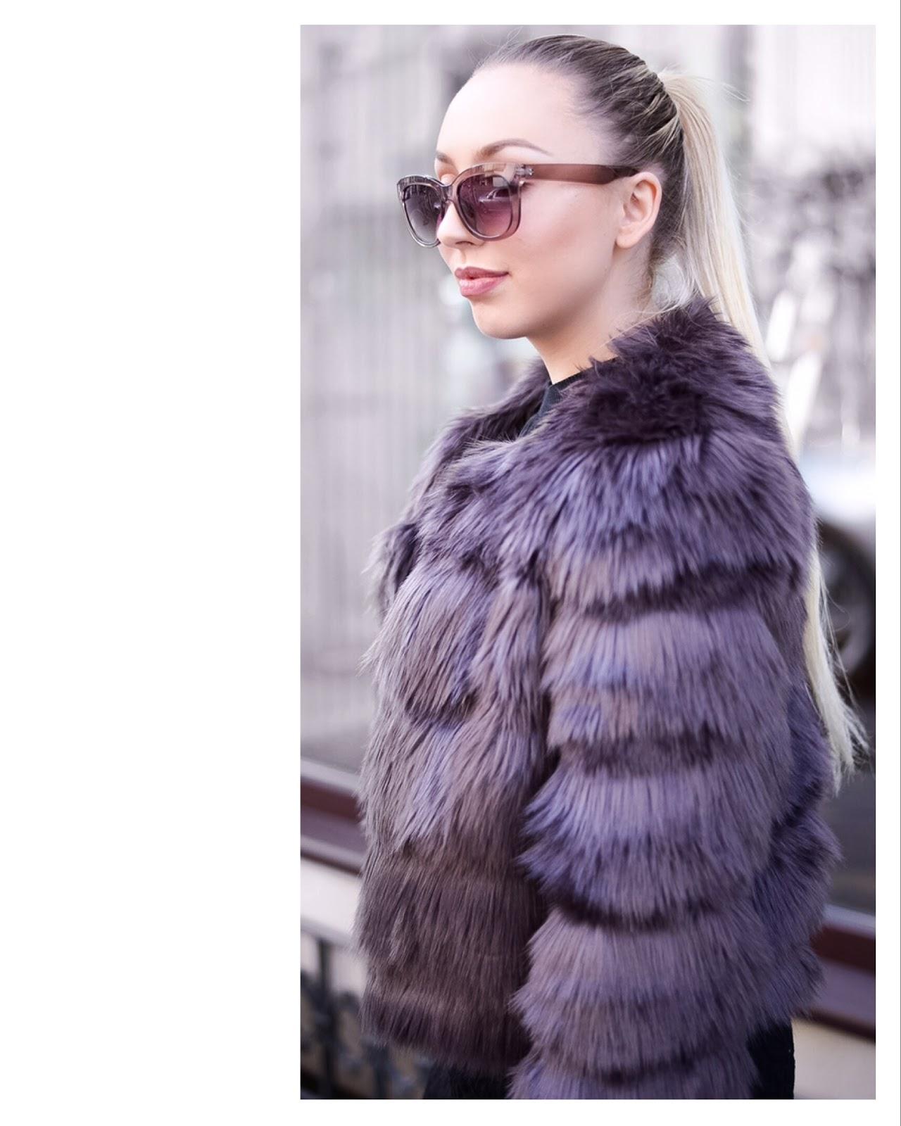 faux fur jacket_winter streetstyle