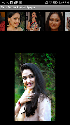 Disha Vakani 3D live Wallpaper For Android Mobile Phone