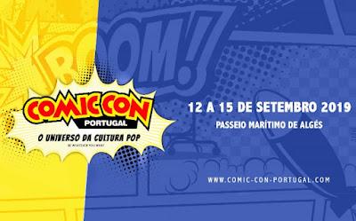 Comic Con Portugal 2019 - Apresentação