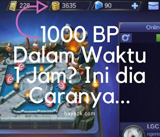 Bagaimana cara mendapatkan kaya battlepoint dalam waktu yang cepat Strategi Mendapatkan 1000 Battlepoint dalam Waktu 1 Jam!