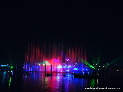 Dubai Festival City Light Water