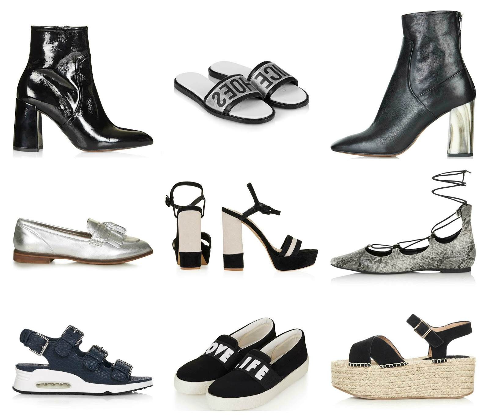 topshop shoe picks