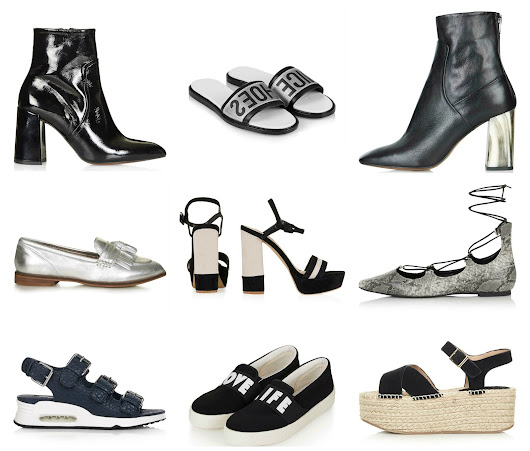 Step into style with my Topshop shoe picks