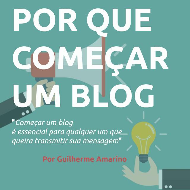 Comece um blog
