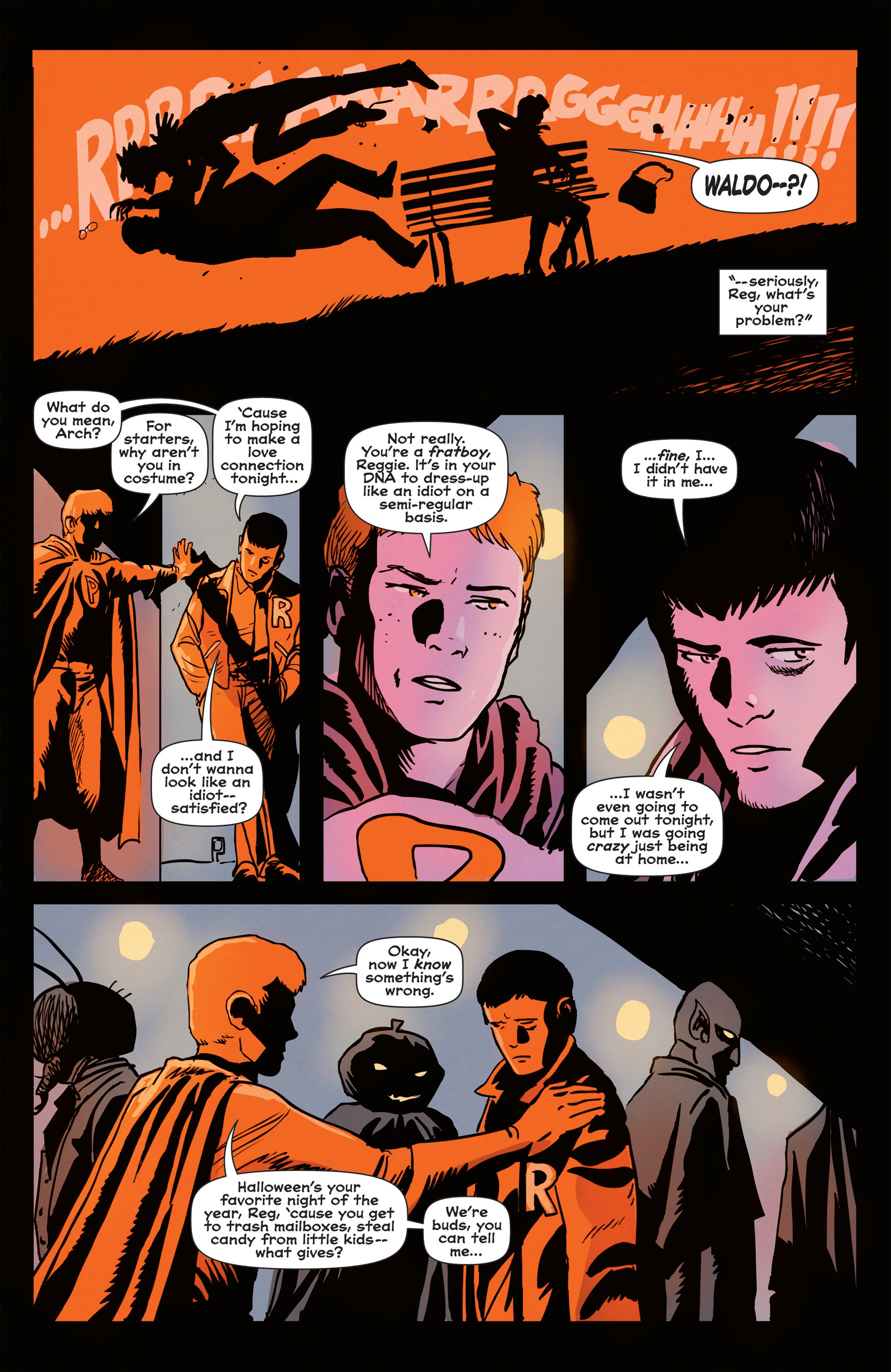 Read online Afterlife with Archie comic -  Issue #1 - 22