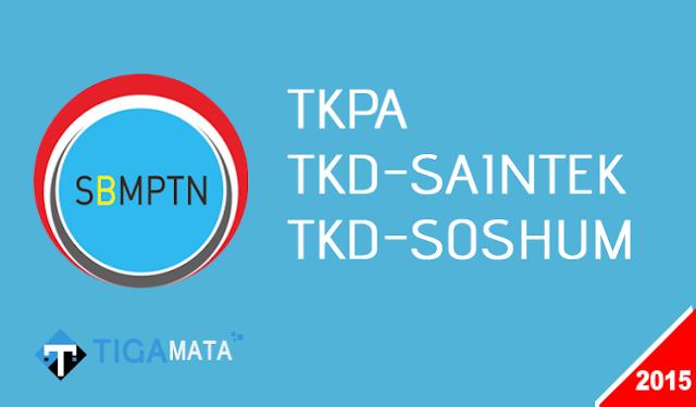 Download Naskah Soal SBMPTN Tahun 2015 (TKPA, SAINTEK, SOSHUM)
