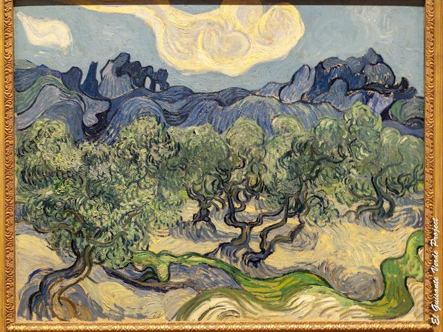 Van Gogh, Olivos - MOMA, Nueva York por El Guisante Verde Project