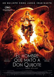 Película El hombre que mató a Don Quijote