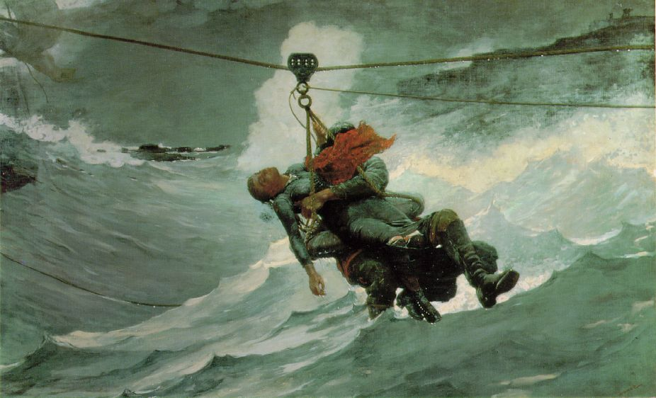 The Watercolour Log Robert William Grice Lifeboatman