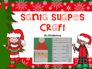 https://www.teacherspayteachers.com/Product/Santa-Shapes-Craft-4245641