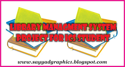 Library Managment System Project For ICS Student