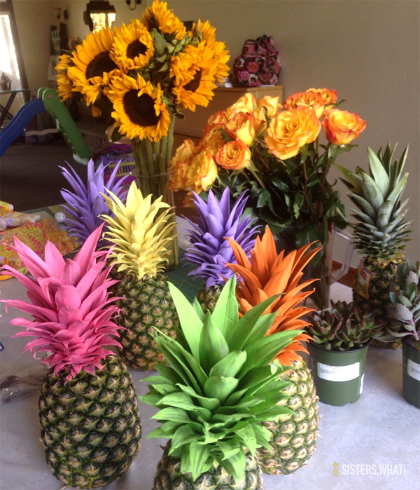 Pineapple Themed Bridal shower or party