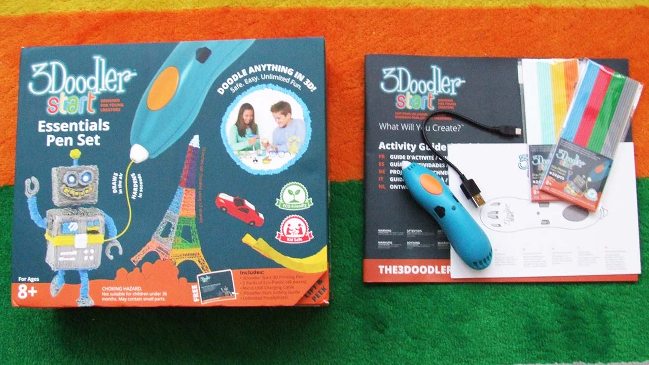 how to use the 3doodler start