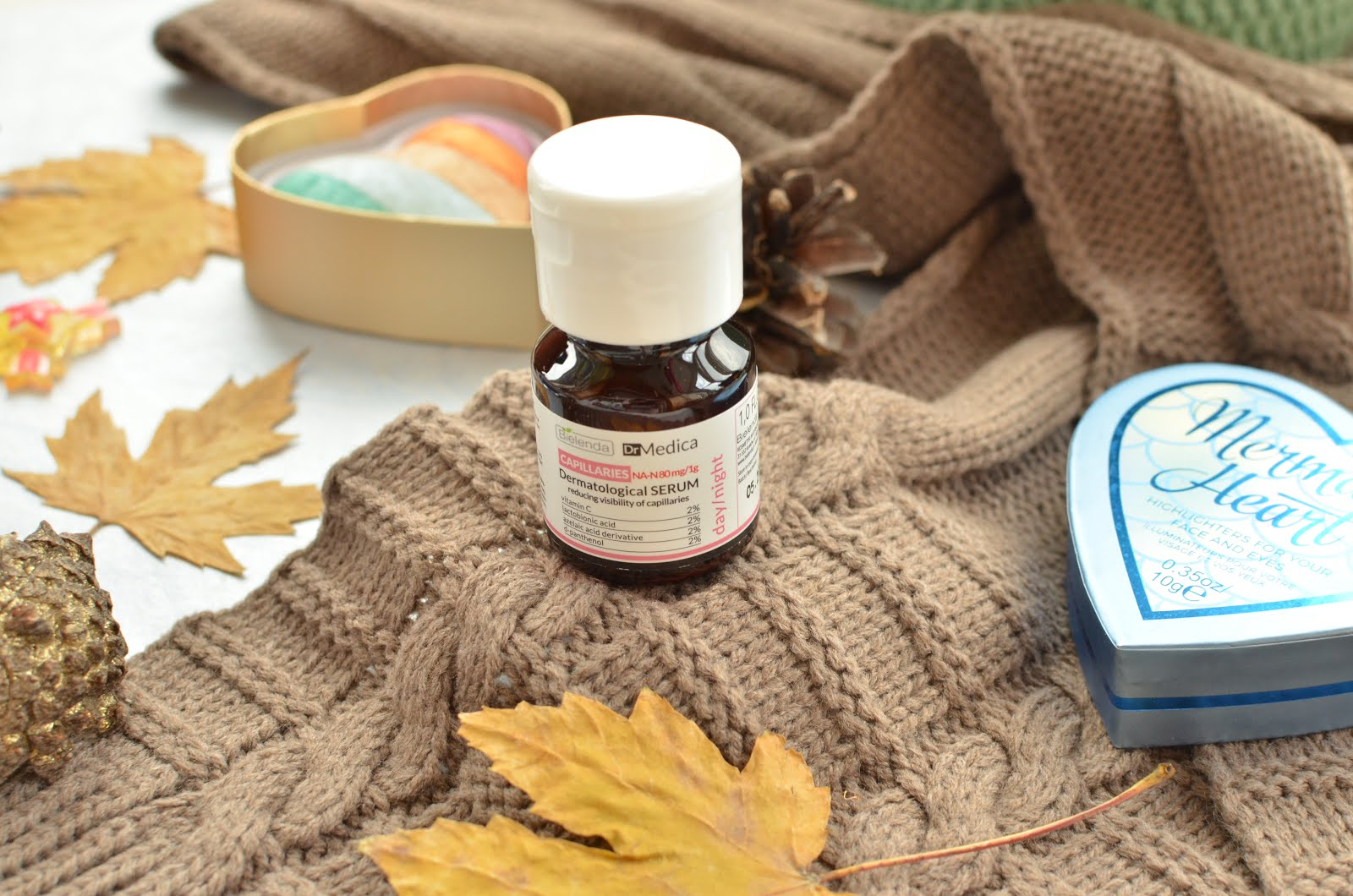 Bielenda Dr Medica Capillaries Dermatological Serum Reducing The Visibility Of Broken Capillaries Дерматологічна сироватка для зменшення почервонінь