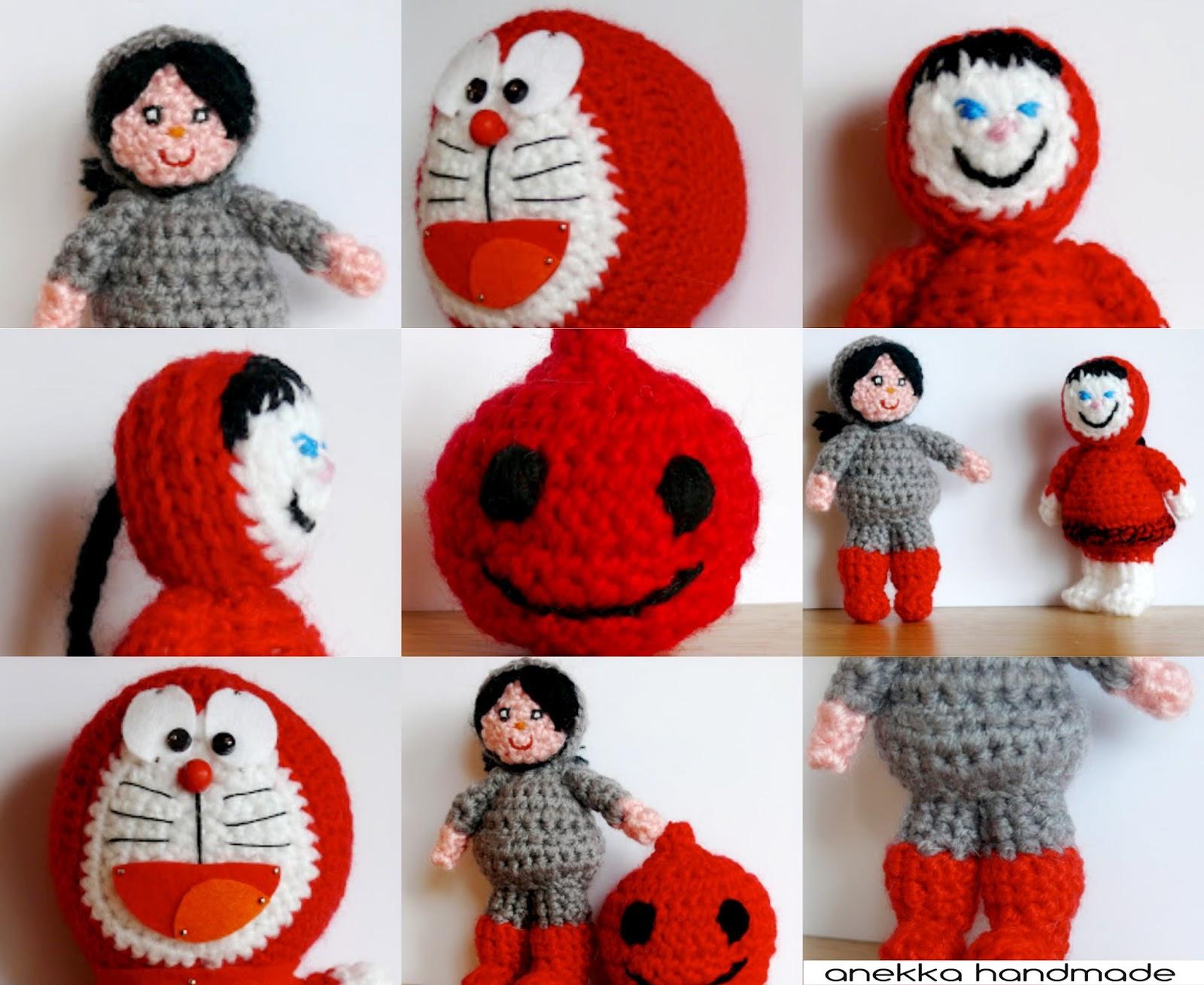 colección amigurumi serie roja