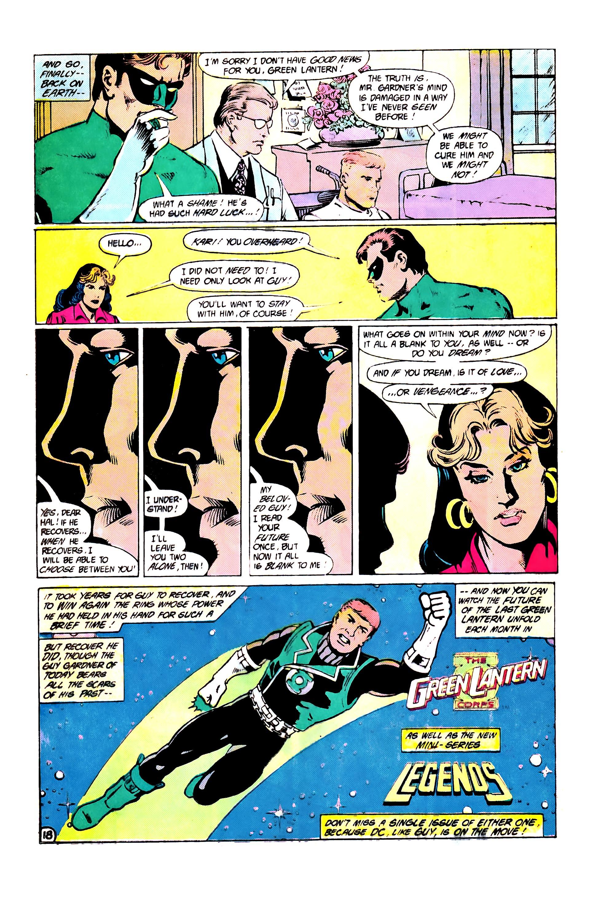 Read online Secret Origins (1986) comic -  Issue #7 - 24