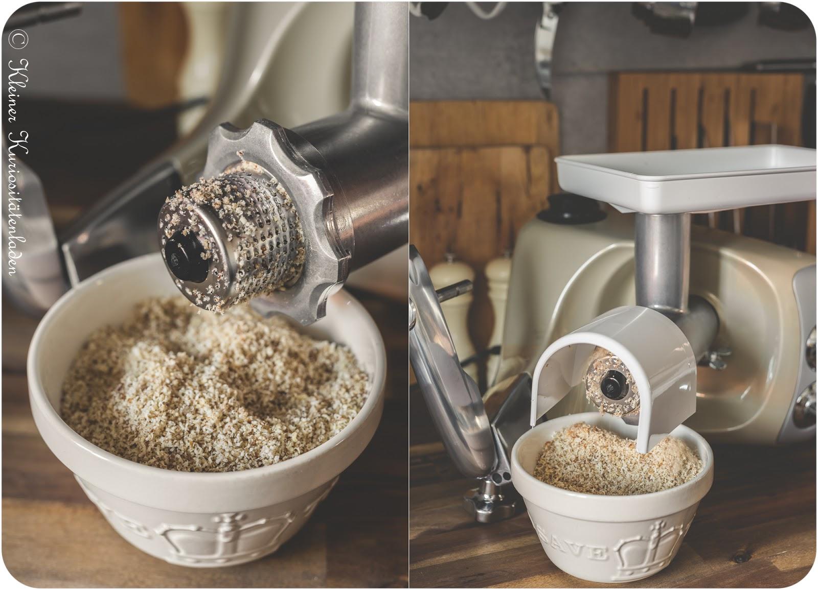 Ankarsrum Reibeaufsatz für Nüsse, Hartkäse und Schokolade