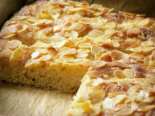 recette de gâteau à pâte levée au beurre et au sucre