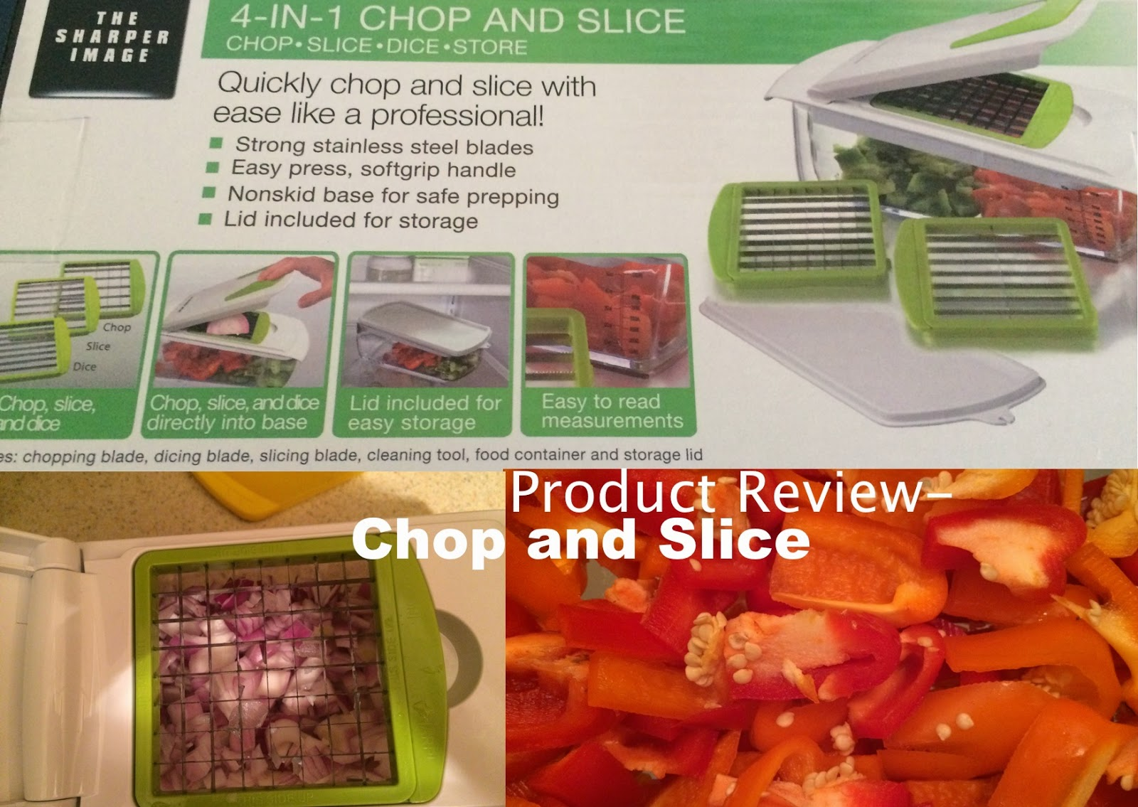 Product Review 4 In 1 Chop And Slice Cluelesscurl