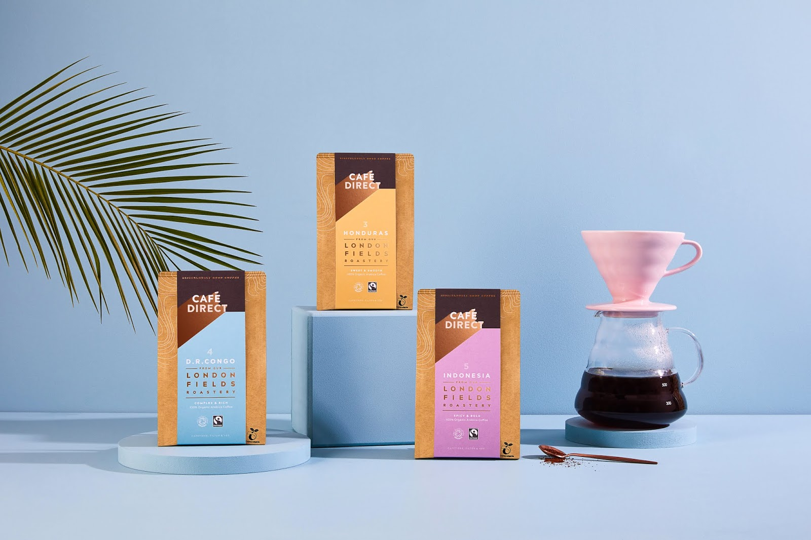 Cafedirect For Waitrose On Packaging Of The World Creative