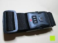 Erfahrungsbericht: Neon-Strength kofferband/gepäckgurt mit TSA-Schloss