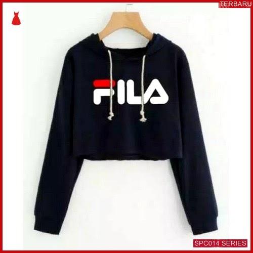 SCP014S18 Sweater Crop Fila Hodie Outerwear Wanita | BMGShop