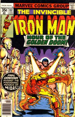 Iron Man #107, Midas