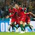 CR7 quebra recorde, marca três e garante empate para Portugal diante da Espanha