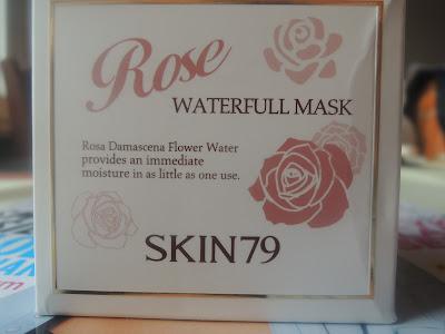 Azjatycki Piątek ze SKIN79 Rose Waterfull Mask