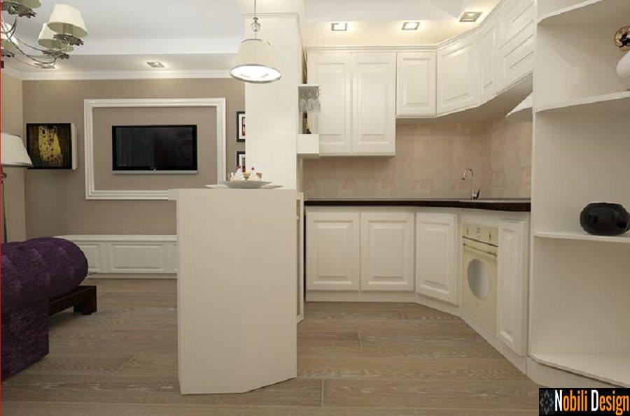 Design Interior Living Open Space Stil Clasic Bucuresti