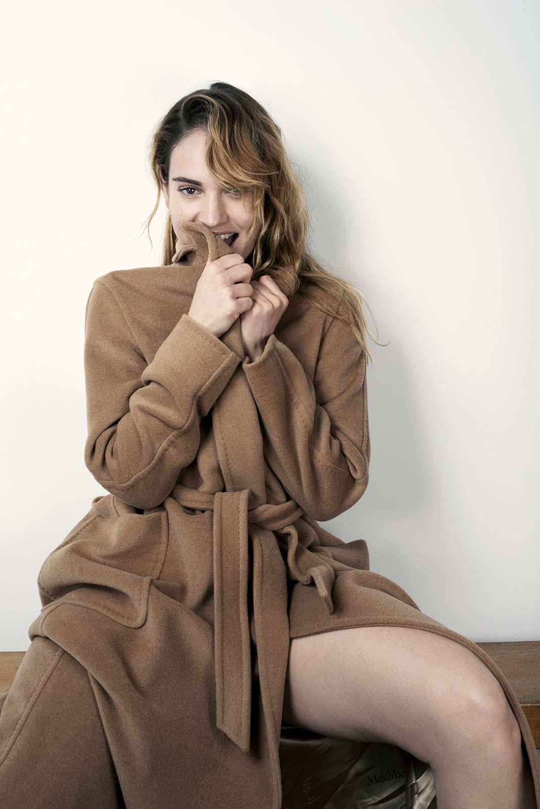 Lily James At David Slijper Photoshoot For Vanity Fair Italy
