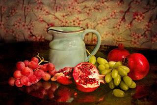 çocuk ve meyve