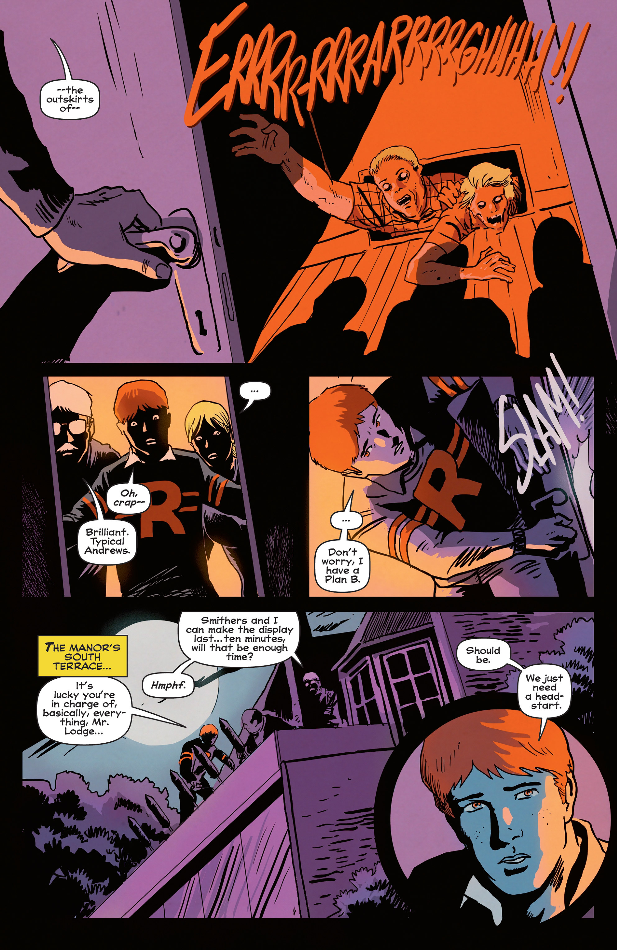 Read online Afterlife with Archie comic -  Issue #5 - 21