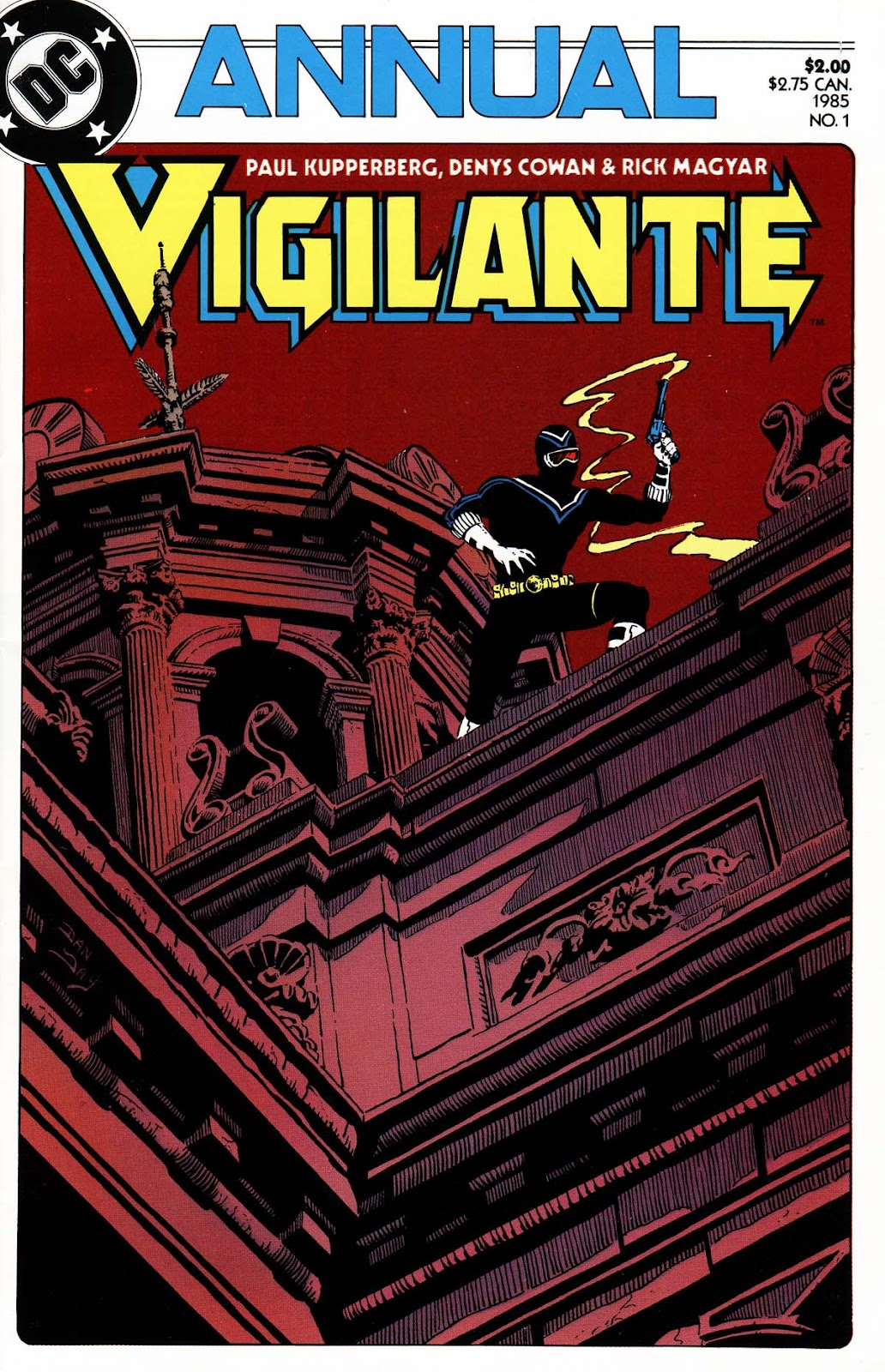 Vigilante (1983) issue _Annual_1 - Page 1