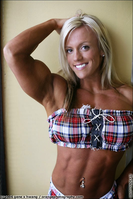 Canadian IFBB Professional bodybuilder Cindy Phillips