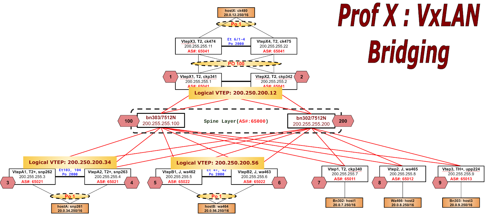 Arista EOS/Networking Tips by Solomon Yang: Arista L3 Leaf