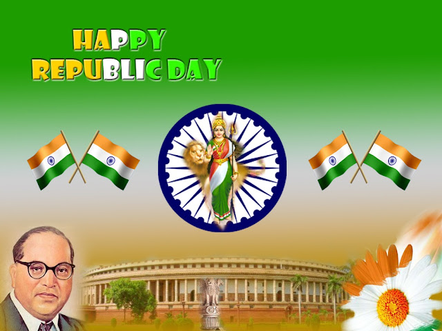 Republic Day thank you Facebook Status DP Images Hike Sticker Timeline
