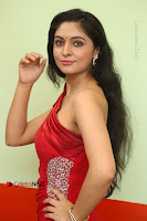 Actress Zahida Sam Latest Stills in Red Long Dress at Badragiri Movie Opening .COM 0051.JPG