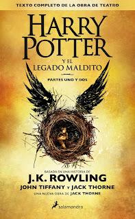 """""""Harry Potter y el legado maldito"""" de J.K. Rowling"""