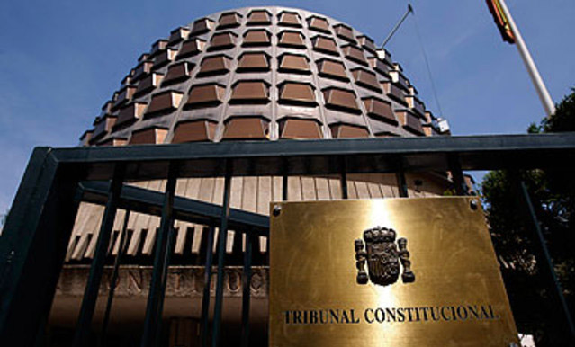 Tribunal Consitucional Vencimiento Anticipado