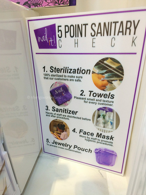 Nail It - 5 Point Sanitary Check